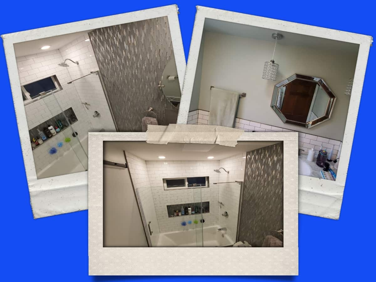 Bathroom Remodeling Collage