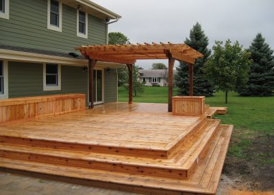 Waukesha Cedar Deck 2