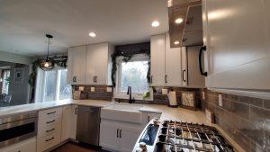 custom kitchen from j edward renovations