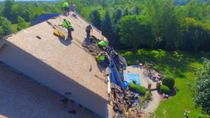 image of a roofing job in milwaukee wisconsin